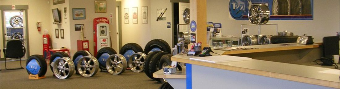 Sterling Automotive Service tires and wheels